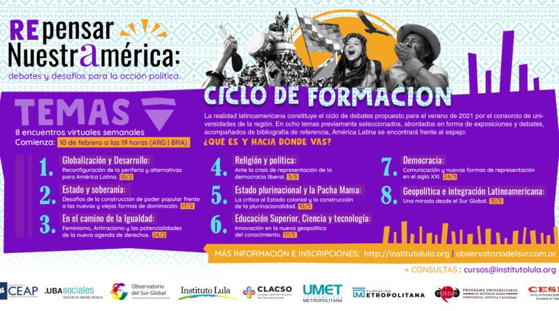 Repensar Nuestramérica: debates y desafíos para la acción política