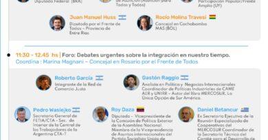 Encuentro de Integración regional a 30 años del MERCOSUR