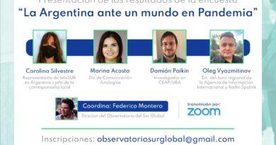 Presentación de La Argentina ante un mundo en pandemia
